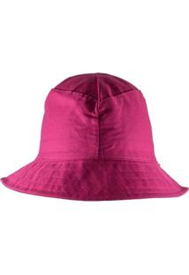 Chapéu Rich Young Bucket Rosa Liso