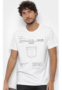 Camiseta Calvin Klein Estampa Bolso Masculina - Masculino