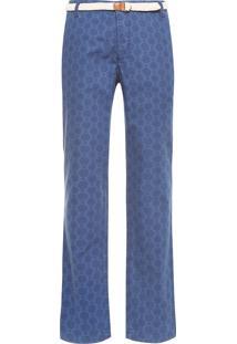 Calça Masculina Casual Arma Secreta Omega - Azul