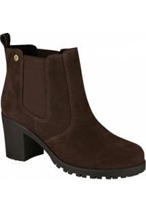 Bota Barth Shoes Bury Tratorada Feminina - Feminino-Marrom Escuro