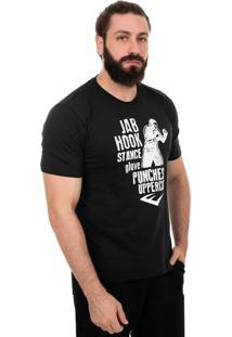 Camiseta Everlast Jab Hook Preto