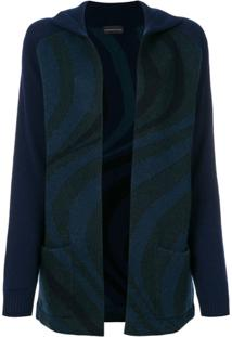 Cashmere In Love Cardigan 'Suzy' - Azul