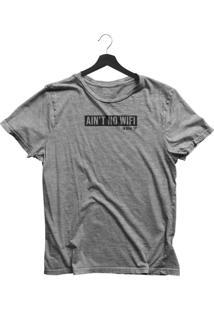 Camiseta Jay Jay Bã¡Sica Ocean Preserve Cinza Mescla Dtg - Cinza - Feminino - Dafiti
