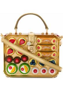 Dolce & Gabbana Bolsa Transversal Dolce Box - Estampado