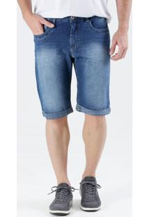 Bermuda Masculina Slim Jeans Marisa