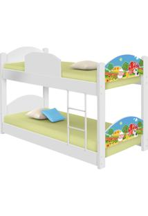 Beliche Infantil Fazendinha Colorida Casah