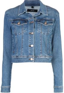 J Brand Jaqueta Jeans Harlow - Azul