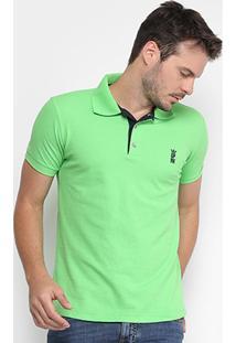 Camisa Polo Opera Rock Piquet Básica Masculina - Masculino