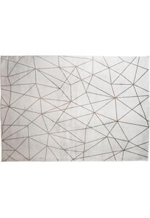 Tapete Belga Geometric Desenho 01 1.40X2.00 - Edantex - Cinza