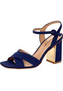 Sandália Veleno Azul Marinho