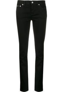 Dolce & Gabbana Calça Jeans Slim - Preto