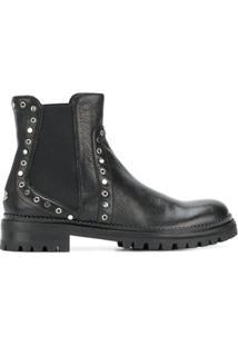 Jimmy Choo Ankle Boot 'Burrow' - Preto