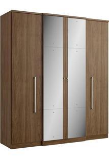 Guarda-Roupa 4 Portas Thb Splendore Plus Glass, Carvalho Sensitive