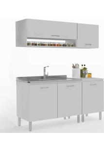 Cozinha Compacta Uccelli 5 Portas 600071 Gris - Vedere