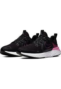 Tênis Nike Legend React 2 Feminino - Feminino-Preto+Cinza