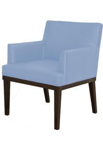 Poltrona Decorativa Lyam Decor Beatriz Corino Azul - Azul - Dafiti