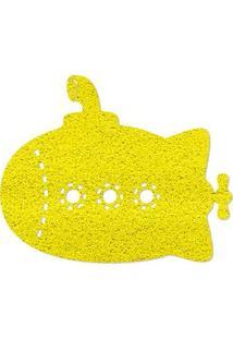 Capacho Beatles Yellow Submarine Amarelo