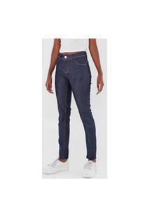 Calça Jeans Grifle Company Skinny Pespontos Azul
