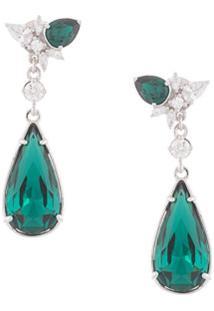 Atelier Swarovski Crystal Drop Earrings - Prateado