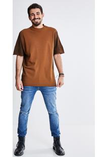 Camiseta Over Lavada