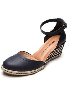 Sandália Dakota Espadrille Azul-Marinho