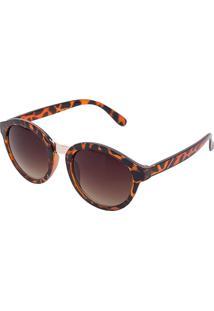 Óculos De Sol Borboleta Marrom feminino   Shoelover 43e2226cf8
