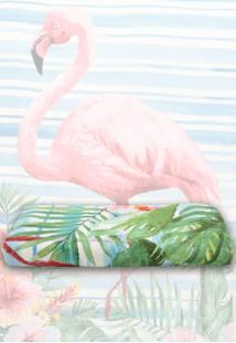 Toalha De Banho Santista Flamingo Rosa