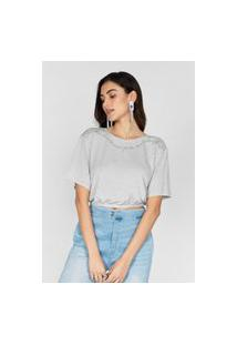 T-Shirt Cocoon Cinza Tsh22122 Cinza