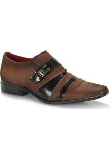 Sapato Social Masculino Urbano Ys - Marrom