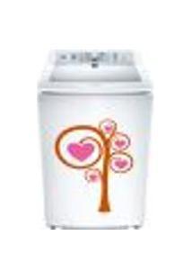 Adesivo Para Maquina De Lavar Arvore Com Coração