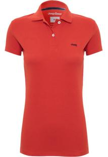 Camisa Pólo Algodao Conforto feminina  8d09022d2529c