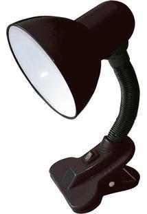 Abajur Luminária Ajustável De Mesa Com Clip Thata Esportes - Kanui