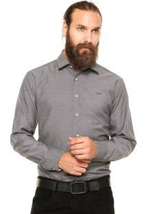Camisa Mr. Kitsch Texturizada Preta