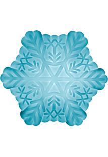 Luminária Casa Da Mãe Joana Floco De Neve Azul