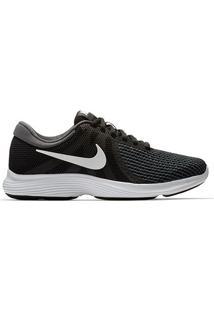 Tênis Nike Revolution 4 Feminino - Feminino-Preto+Branco