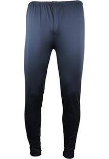 Calça Térmica Segunda Pele Thermo Premium Masculina - Masculino-Preto