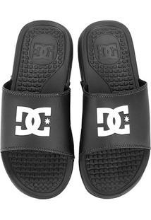 Chinelo Dc Shoes Bolsa Men La-Adyl - Masculino - Masculino-Preto