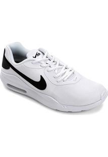 Tênis Nike Air Max Oketo Masculino - Masculino-Branco+Preto