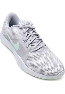 Tênis Nike Flex Trainer 8 Feminino - Feminino-Cinza