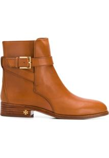 Tory Burch Brooke Ankle Boots - Marrom