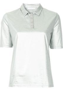 Fabiana Filippi Metallic Effect Polo Shirt - Metálico