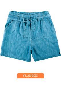 Shorts Azul Claro Clochard Jeans