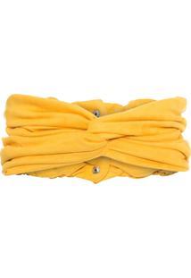 Cinto Feminino Faixa - Amarelo