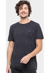 Camiseta Redley Full Print Respingos Masculina - Masculino