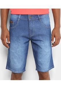 Bermuda Jeans Biotipo Masculina - Masculino-Azul Claro