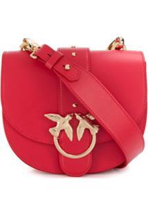 Pinko Bolsa Transversal - Vermelho