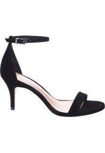 Sandália Gisele Kitten Heel Black | Schutz