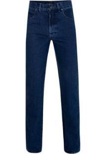 Calça Jeans Pierre Cardin Classic Blue Masculina - Masculino