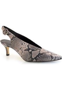 Sapato Chanel De Salto Baixo Suzzara