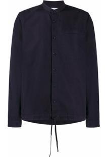 Ymc Drawstring Waist Shirt - Azul
